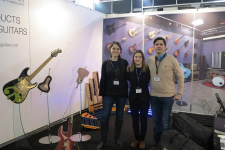 Aclam Guitars at the Musikmesse 2014 | Aclam Guitars