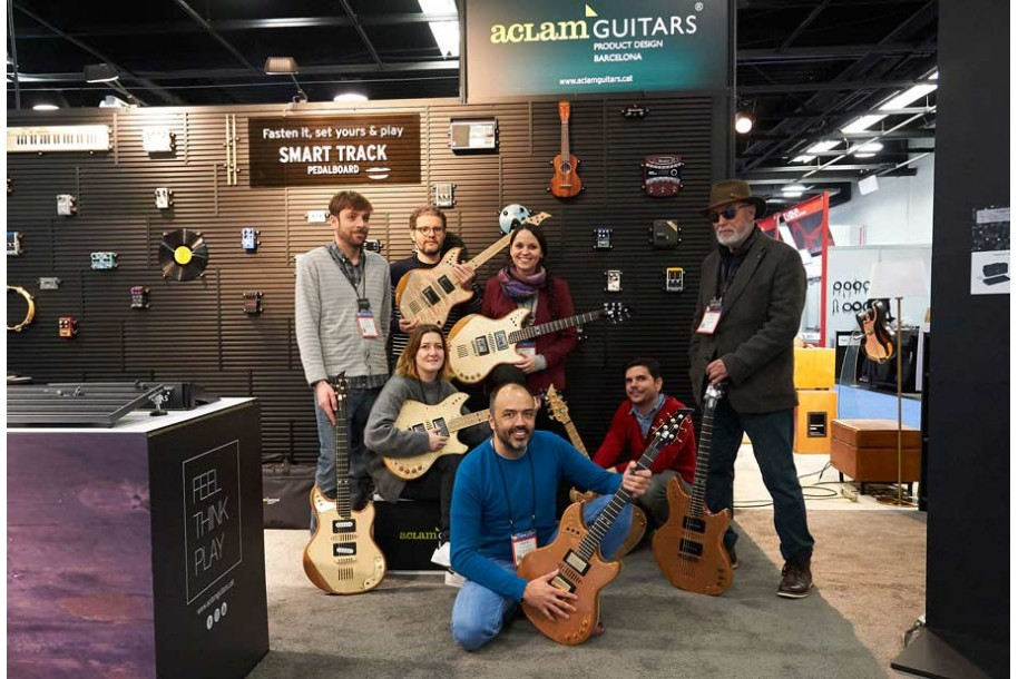 Aclam Guitars at the NAMM Show 2017 | Aclam Guitars