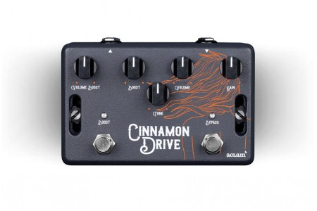 Please welcome: the Cinnamon Drive effect pedal! | Aclam Guitars