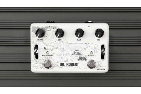 Dr.Robert guitar overdrive pedal is now available in our online store! | Aclam Guitars