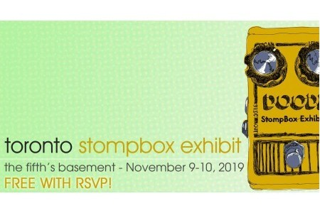 Aclam's effects pedals keep touring. Next stop Toronto Stompbox Exhibit 2019!!! | Aclam Guitars