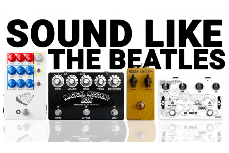 Ultimate tone research, sounding like the Beatles.