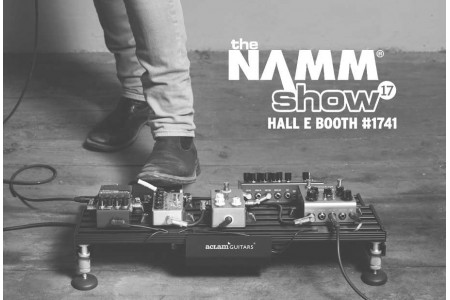 We are waiting for you @ NAMM 2017 with new releases! | Aclam Guitars