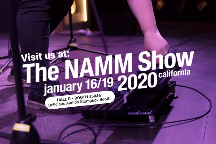 NAMM 2020: Dr. Robert, Cinnamon Drive & Smart Track! | Aclam Guitars