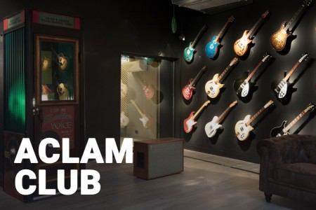 Aclam Club: Probably one of the most interesting guitar collections in Europe.
