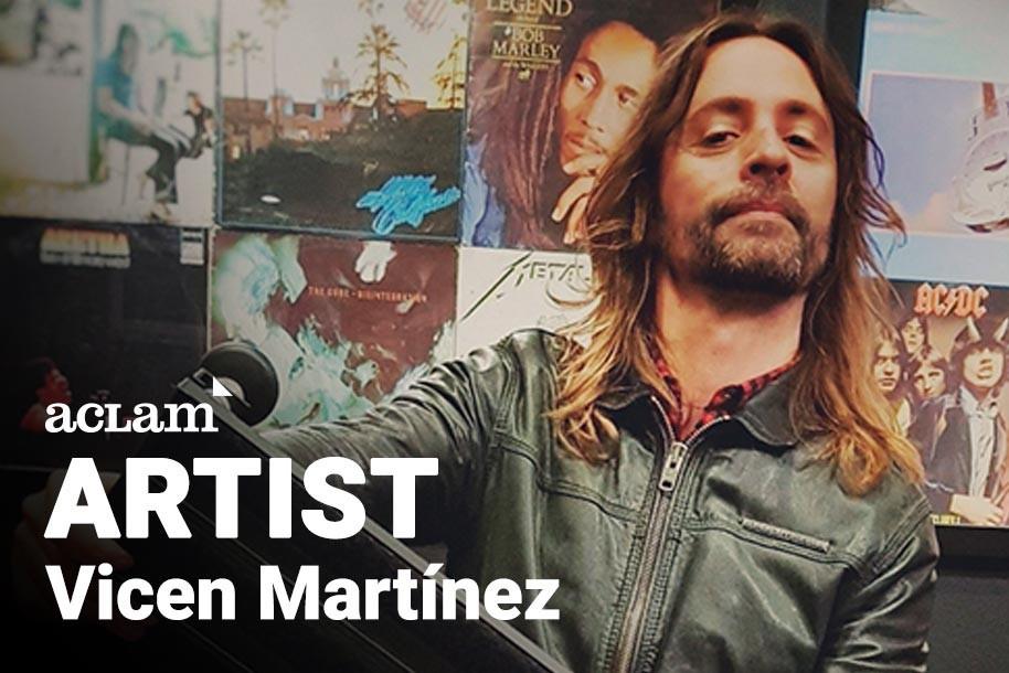 Artist Interviews: Vicen Martinez