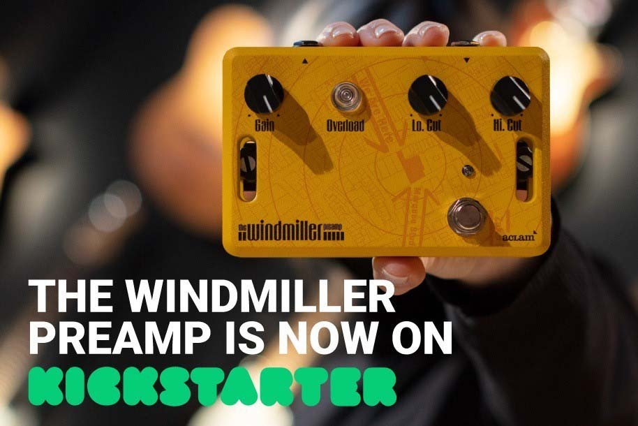 The Windmiller Preamp is now available on Kickstarter!