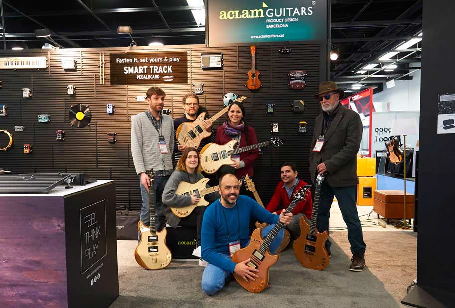 Aclam at namm show