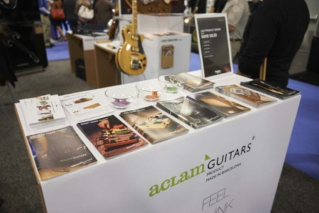 Aclam Guitars at the Namm Show 2015