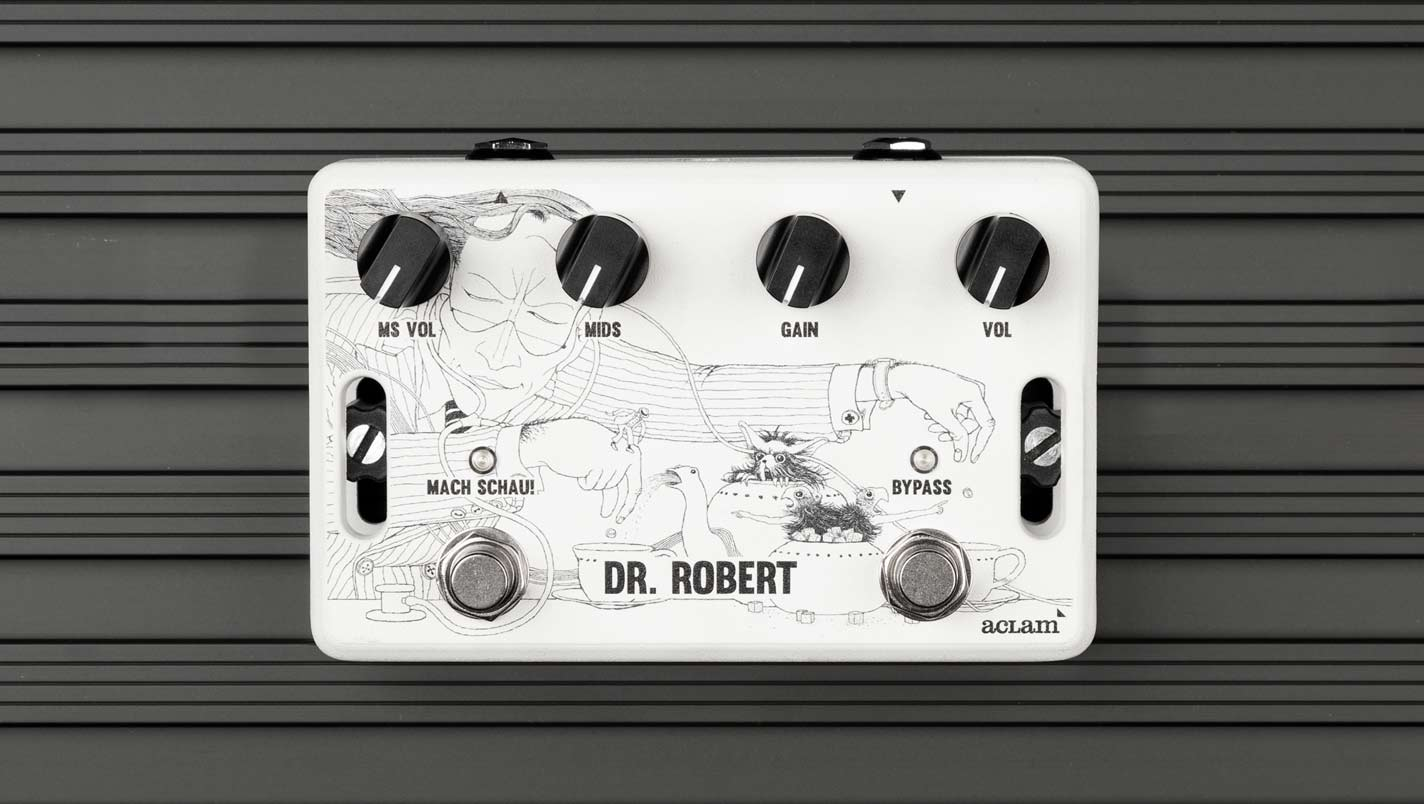 Dr.Robert guitar overdrive pedal is now available in our online store!