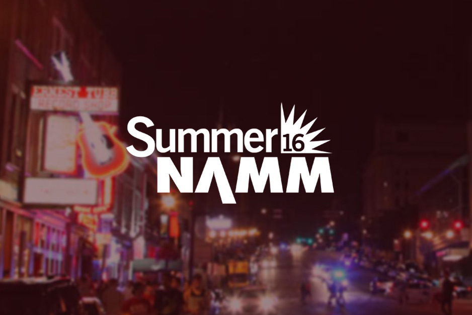 Aclam Guitars presence at the Aclam Summer Namm 2016