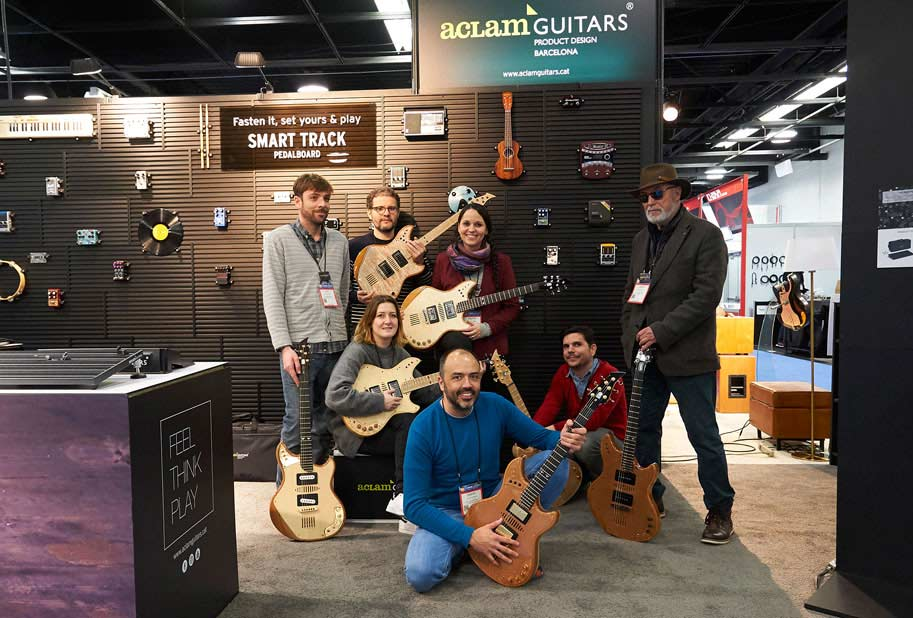 Aclam Guitars at the NAMM Show 2017