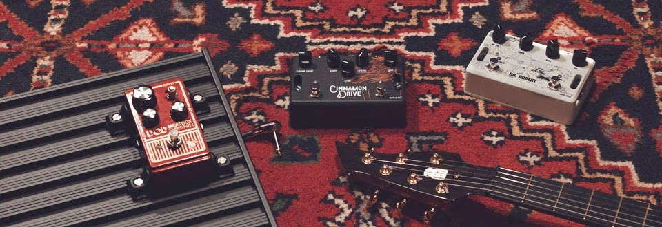 Guitar products: Boutique Pedals, pedalboards & accessories