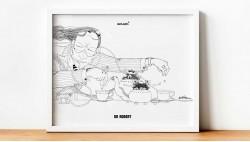 Dr. Robert print 70x50cm
