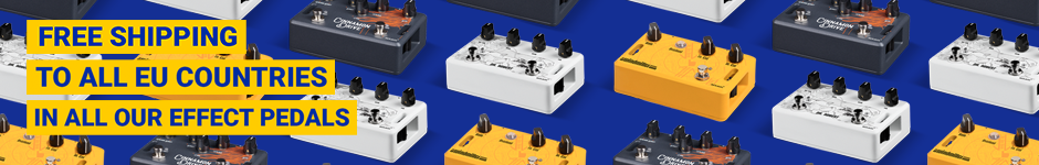Effects pedals store - Free EU shipping
