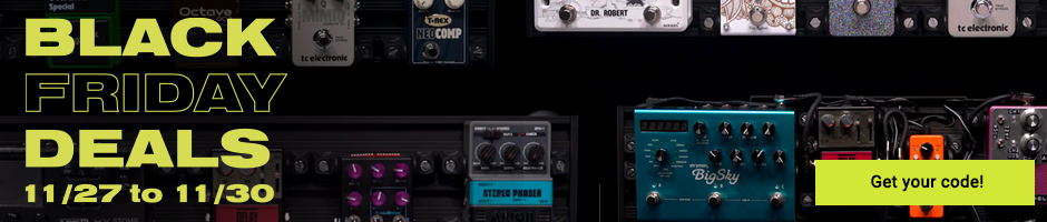 Black Friday pedalboards aclam 2020