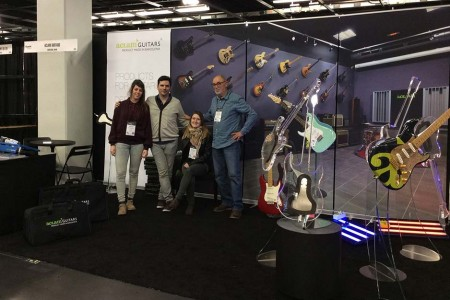 Aclam Guitars at the Namm Show 2014 | Aclam Guitars