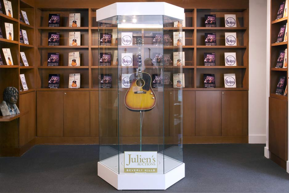 John Lennon's guitar sold for $2.4M at auction!