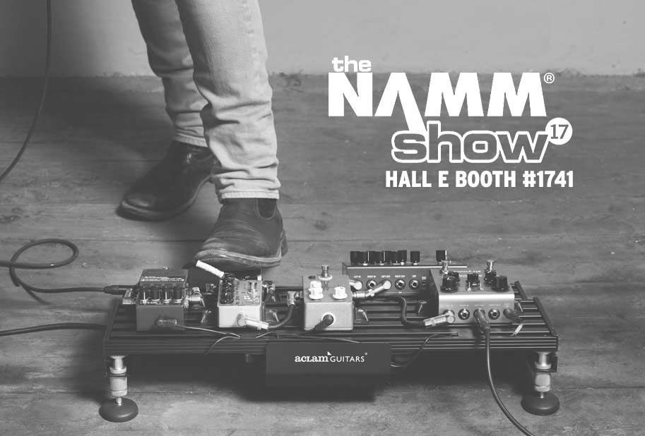 We are waiting for you @ NAMM 2017 with new releases!